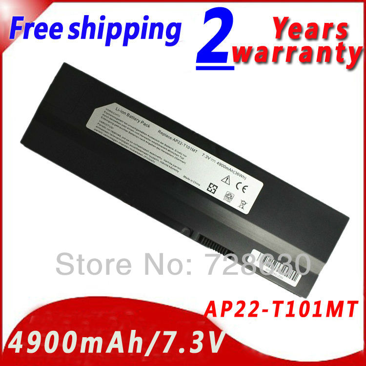 Laptop Battery For asus ap22-t101mt battery EEE PC T101 T101MT AP22-T101MT 90-0A1Q2B1000Q 90-OA1Q2B1000Q 7.3V 4900MAH<br><br>Aliexpress