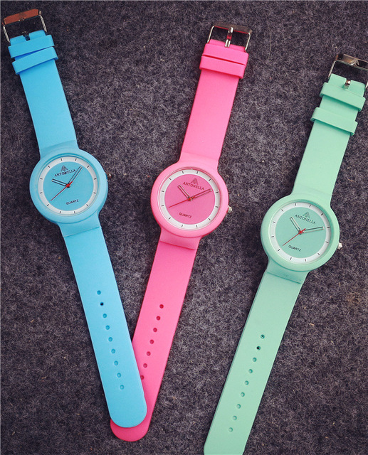 Zegarek damski Cute Jelly Silicone różne kolory