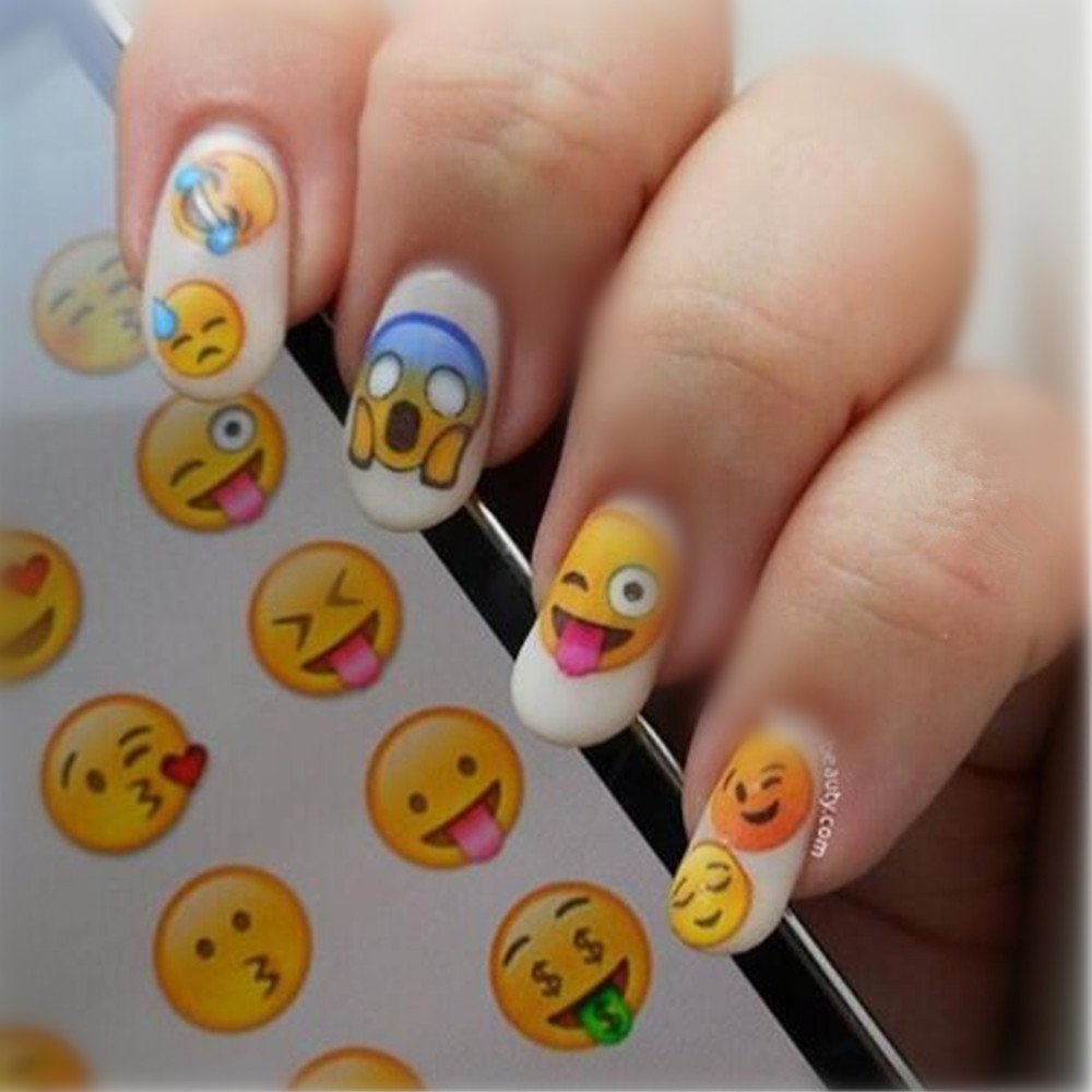 The Nail Art And Beauty Diaries: NICOLE DIARY Nail Art Water Decals Various Expression