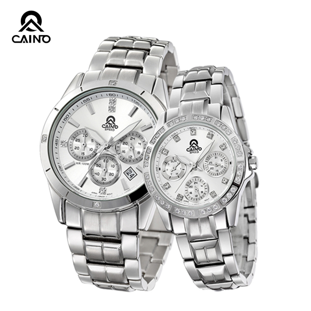 Фотография CAINUOS (CAINO)  New Lovers Couple Watch Romantic Expression Of Love Couples Wristwatch Quartz Watch One Pair