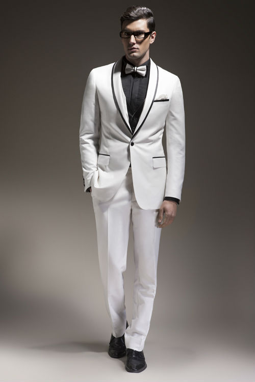 White Jacket Tuxedo Wedding Wedding Tuxedos Mens White