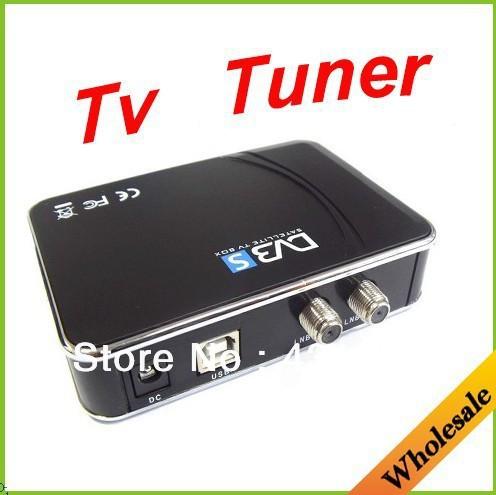 Wholesale USB 2.0 Satellite TV Box DVB-DATA ETSI/EN DVB-S port useful TV tuner for compute or PC not tv SDtv HDtv.Free shipping(China (Mainland))