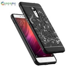 Buy Xiaomi Redmi Note 4 case Silicone back cover 3d carved dragon black tpu phone coque redmi note4 Note 4 Pro fundas anti-knock for $5.91 in AliExpress store