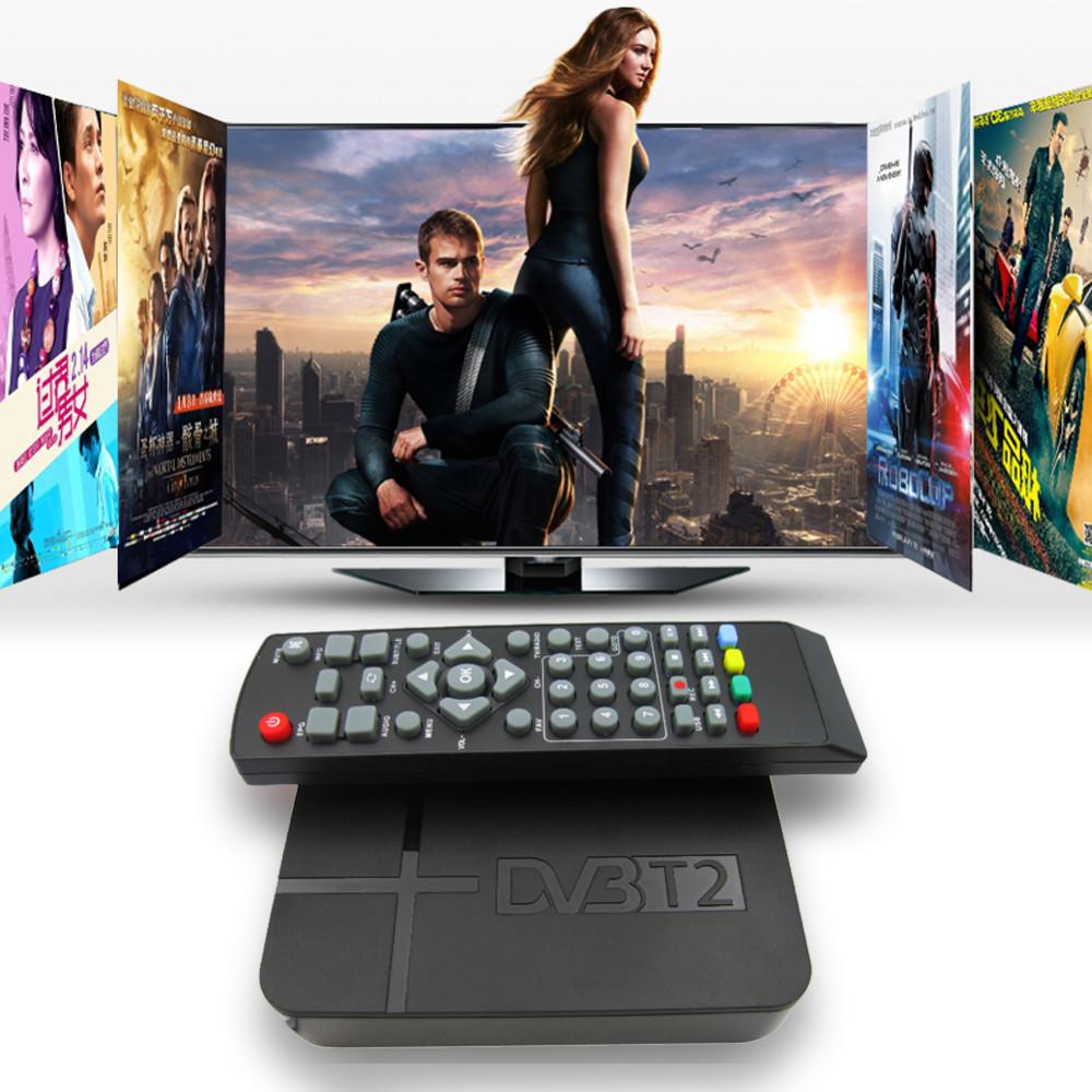 image for 2016 Newest Full HD 1080P K2 DVB-T2 Digital Video Terrestrial MPEG4 PV