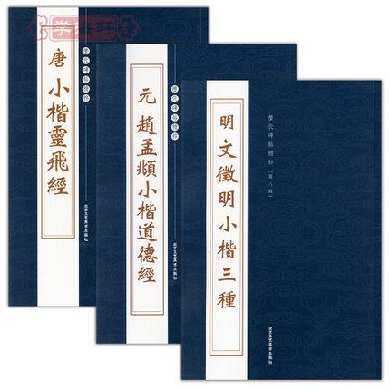 3pcs/set Calligraphy Pen Pencil Practice Book - Chao, lower case Ching Ling Fei Wen Zhengming lower case by zhong shaojing<br><br>Aliexpress