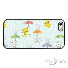Cats And Dogs Cartoon Funny back skins mobile cellphone cases cover for iphone 4/4s 5/5s 5c SE 6/6s plus ipod touch 4/5/6