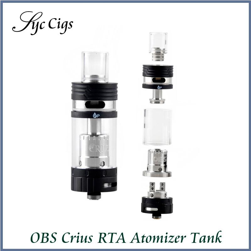 ถูก เดิมOBS C Rius RTAเครื่องฉีดน้ำ4.2มิลลิลิตรVaporizer RTAถังด้านบนด้านเติมง่ายเครื่องฉีดน้ำโอห์มย่อยสำหรับบุหรี่อิเล็กทรอนิกส์สมัยกล่อง