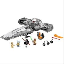 LEPIN Star Wars 7 Sith Infiltrator Figure Toys building blocks set marvel minifigures magformers