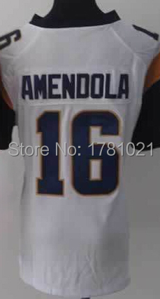 Free Shipping Cheap Women's Rugby Shirt Elite American Football Jersey 16 Danny Amendola Jersey White Quality Stitched Wholesale(China (Mainland))