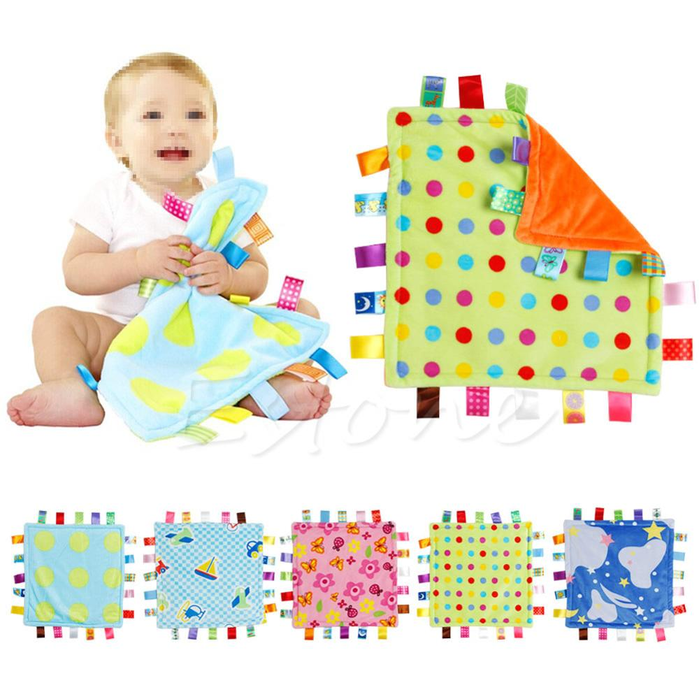 30*30cm Baby Appease Towel Baby Calm Wipes Baby Towel Towel Blanket Cute Doll Plush Toys A5370