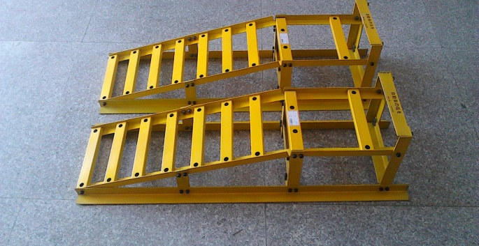 pair of Auto Vehicle Lift Tire Ramps car ramp Car Maintenance Dervice Ramps(China (Mainland))