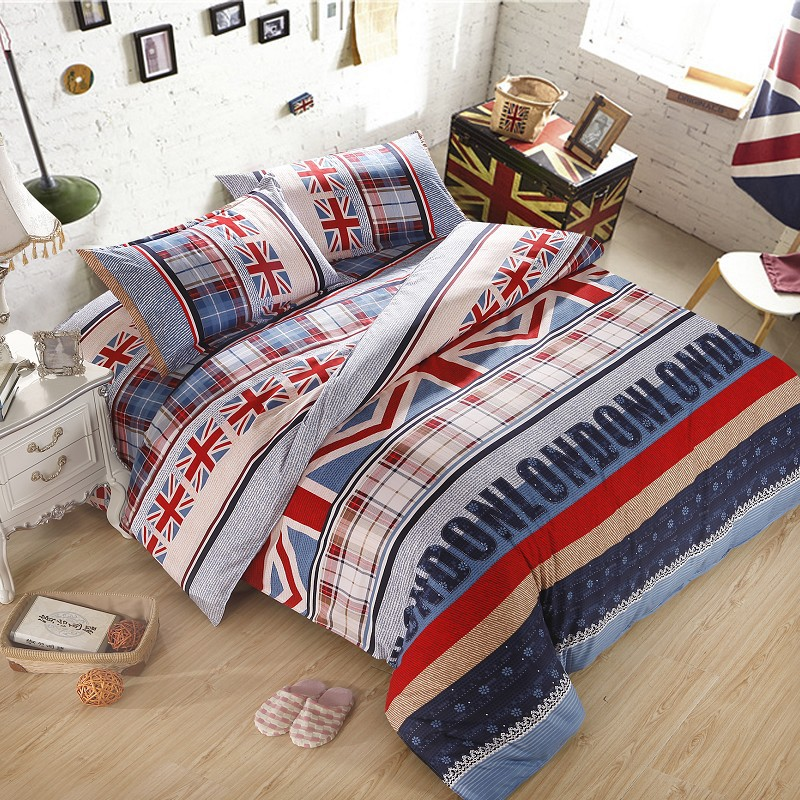 New arrival american style bedding set plant cashmere for New style bed