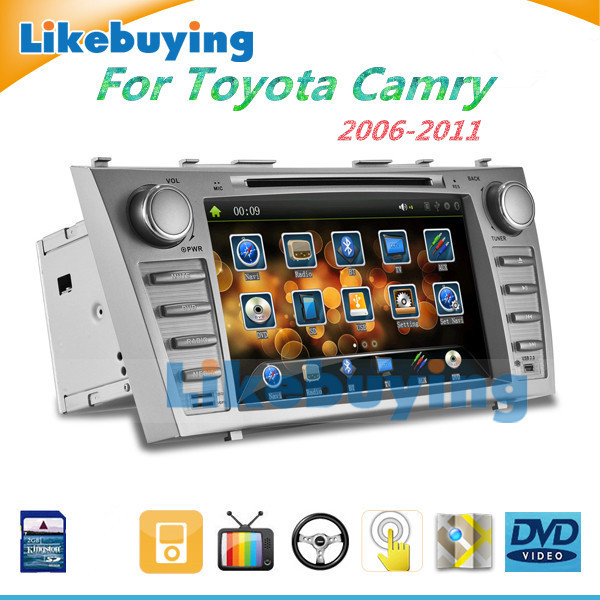 2 Din 8 Inch Car DVD Player GPS Navigation Radio Toyota Camry 2007 2008 2009 2010 2011 Bluetooth FREE 8G Map SD Card - Shenzhen Being Lucky Trading Co.,Ltd store