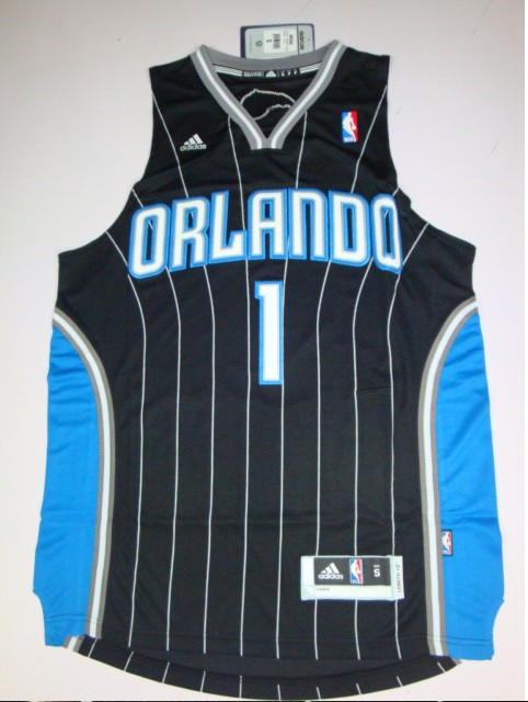 High quality New fabrics,The magic number 1 shirt, black, basketball clothes.(China (Mainland))