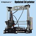 Tronxy Upgraded Quality High Precision Reprap 3D printer Prusa i3 DIY kit P802E bowden extruder Auto