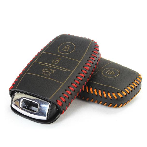 sport leather car key fob set shell cover case for kia rio ...