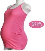 feeding Nursing Bra maternity clothing maternity spaghetti strap vest cotton all-match cotton maternity basic shirt all-match(China (Mainland))