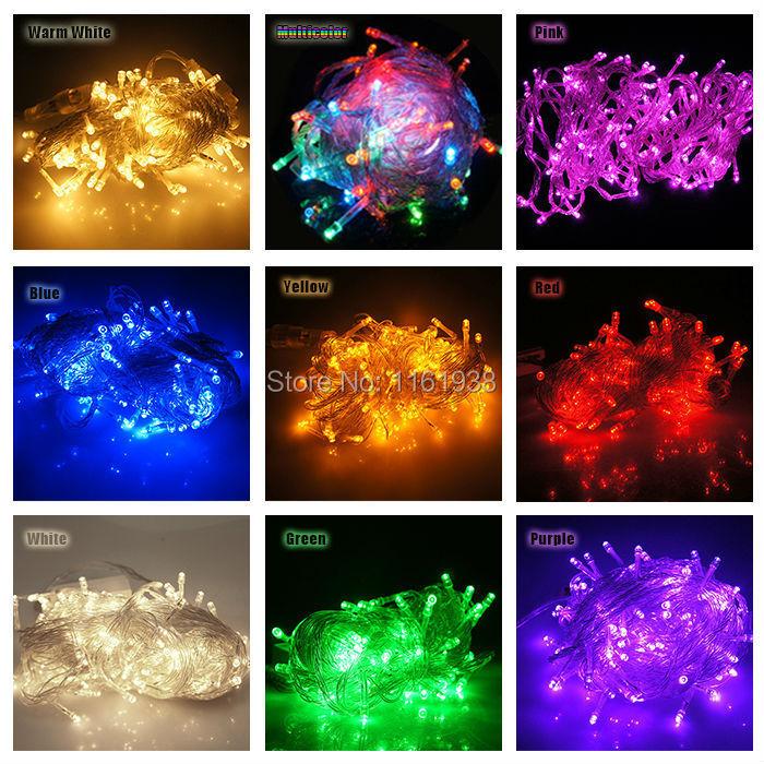 50 LED fairy string light 16 feet 3xAA battery power for holiday wedding xmas celebration night decoration view(China (Mainland))
