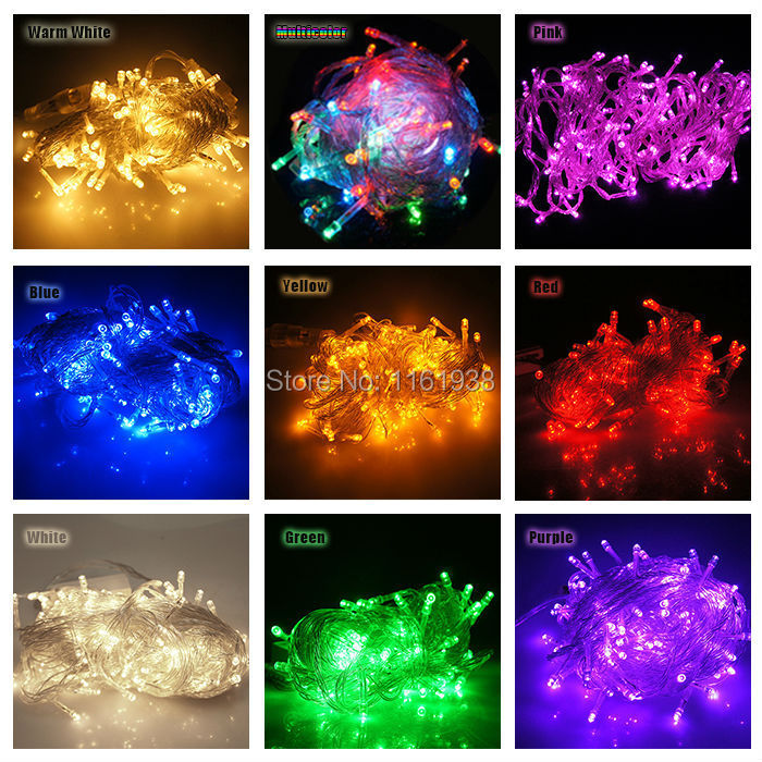 50 LED fairy string light 16 feet 3xAA battery power for holiday wedding xmas celebration night decoration view(China (Mainland))