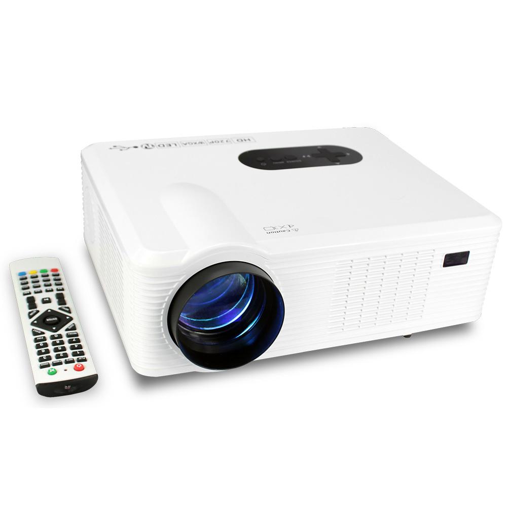 LATEST HIGH RESOLUTION TV HDMI /AV/VGA/SD/USB Projectors Home Theater Cinema Multimedia Player(China (Mainland))