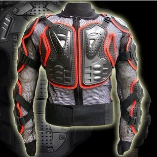 CE Approve Motorcycle Jackets Protector Body Armor Racing Black # Red rim MOTO RACING Armour Adult(China (Mainland))