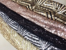 Buy 2017 New arrival african lace fabrics high 5 color cord lace guipure lace fabric wedding party dress 5yards/lot LY13 for $49.68 in AliExpress store