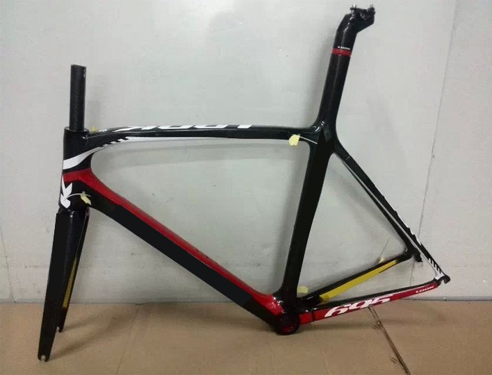 Carbon Road frame for 695 Cycling free shipping from factory 700C look frame+fork+seat post +headset +seat post clamp(China (Mainland))