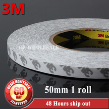 Buy 1 Roll 50mm*50M Double Sides Adhesive Tape, 3M 9080, Electronic Component, Camera, Speaker, Foam Bonding for $42.98 in AliExpress store