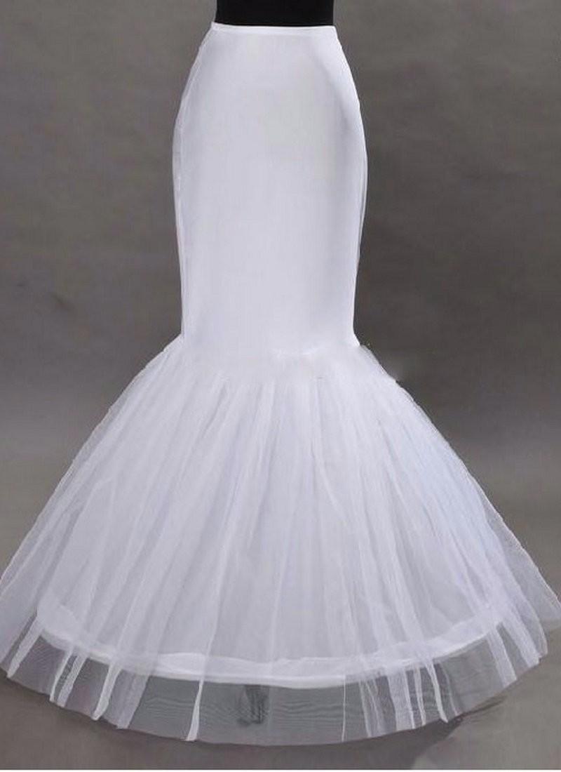 2016 wholesale sirne petticoat 1 hoop os lastique robe de marie crinoline 2016 de marie jupon - Jupon Mariage 1 Cerceau