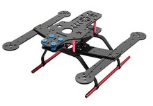 FCM250 Mini 250mm 4-Axis Quadcopter Frame Kit Carbon Fiber / Glass Fiber For FPV RC Helicopter DHL Shipping