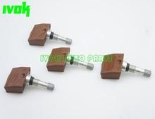 Set Of (4) Schrader TPMS Tire Pressure Monitoring System Sensors for Saab Chevrolet Volt Lotus Elise Evora 13348393(China (Mainland))