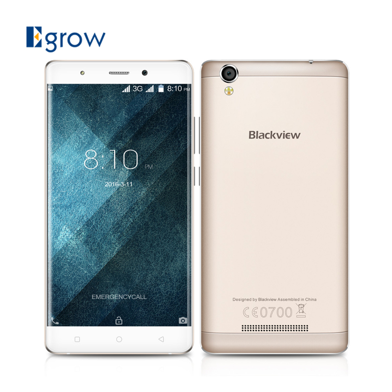Original Blackview A8 MTK6580A Quad Core Cell Phone Android 5.1 5.0 Inch 3G Network Mobile Phone 1G RAM 8G ROM Smartphone(China (Mainland))