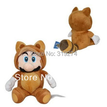 """Buy Wholesale/Retail Free FS Super Mario Brothers Bros Plush Doll Soft Baby Toy Tanooki Mario 18cm/7"""" SM026 for $9.99 in AliExpress store"""