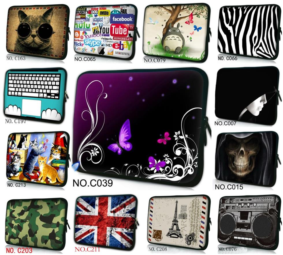 """Lovely Designs 12"""" 11.6"""" Cover Case Carry Bag For Macbook Air /HP Dell Asus Laptop Tablet(China (Mainland))"""
