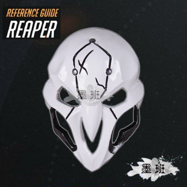 On Stock High Quality Resin Mask Cosplay DVA Cos Over Watch Pioneer Reaper Mask Death Masks(China (Mainland))