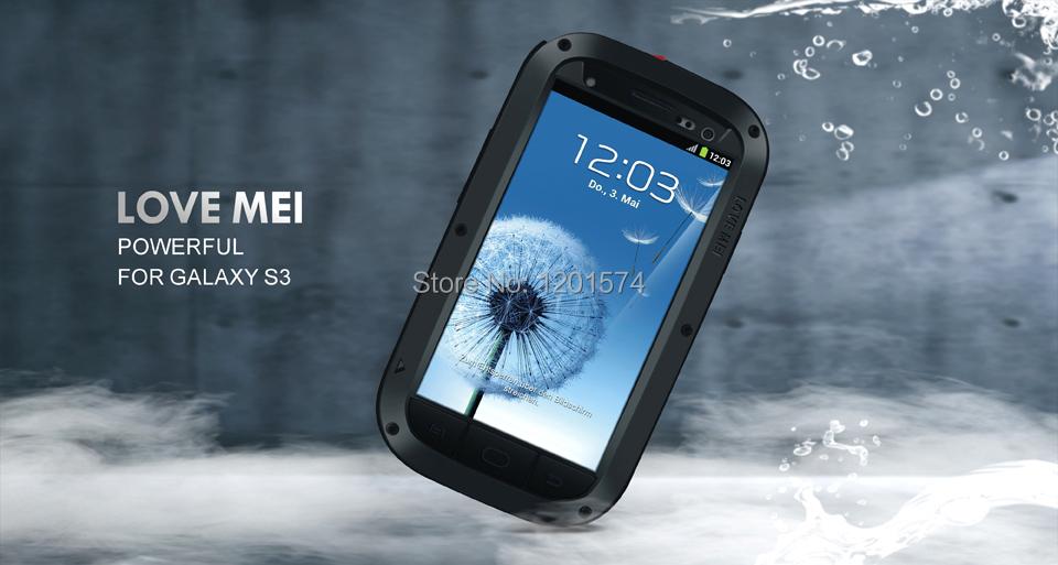 все цены на Чехол для для мобильных телефонов Love Mei & & Samsung Galaxy S3 i9300 Water Proof&Shock Proof&Dirt Proof онлайн