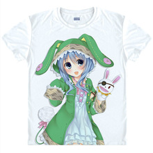 DATE A LIVE T-shirts kawaii Japanese Anime tshirts Manga Shirts Cute Cartoon Kurumi Tokisaki Cosplay shirts 37172682128 tee 135
