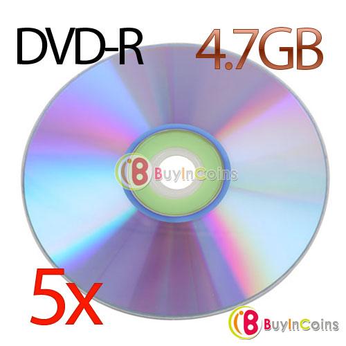 1Pcs New Blank Recordable Printable DVD-R DVDR Blank Disc Disk 8X Media 4.7GB #10403(China (Mainland))
