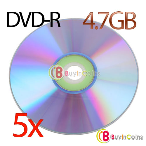 1Pcs New Blank Recordable Printable DVD-R DVDR Blank Disc Disk 8X Media 4.7GB #10403(China (Mainland))