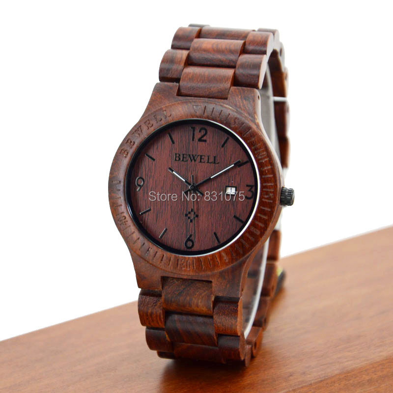 Гаджет  Rare Slim Wooden Watches Men! Bewell Brand Wood Watch Rare Slim VJ32 Movement Wooden Watches Men Women Alibaba Hot Products None Часы