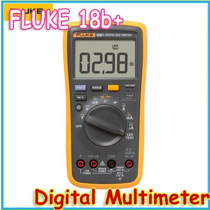 1set 100% Authentic Brand New Fluke 18B+ LED Test Digital Multimeter, 15B+ 17B+LED forward voltage Test(China (Mainland))