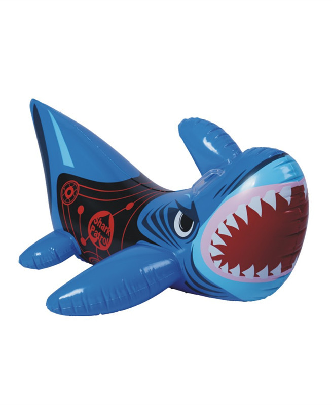 2015 New Pvc Inflatable Shark Boats Ride Children Playing Water Children's Day Toys Outdoor Swimming Floating Boat - Welcome Tina's Shop store
