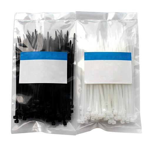 Гаджет  2015 Newest 100pcs 3x100mm Network Nylon Plastic Cable Wire Organiser Zip Tie Cord Strap 6JKY None Электротехническое оборудование и материалы