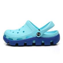 2019 Slip On Casual jardín zuecos zapatos impermeables mujeres clásicas enfermería zuecos Hospital mujeres Trabajo sandalias médicas tamaño grande(China)