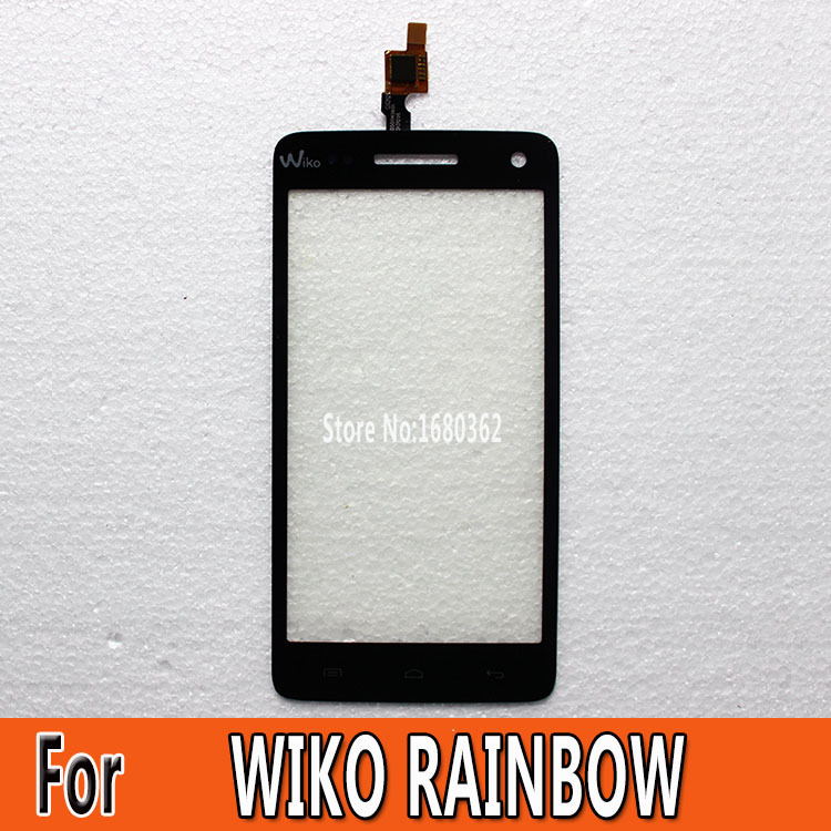 New Original Screen For Wiko Rainbow Touch Screen Digitizer Glass + free shipping