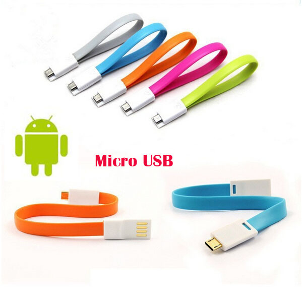 22cm Short Magnet Micro usb V8 charger Cable data sync cord wire for Samsung S4 S3 Note 2 HTC XiaoMi Huawei LG Lenovo Phones(China (Mainland))