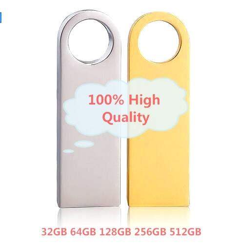 Real Capacity High Speed USB 3.0 Flash Drive 128GB Pen Drive Pendrive Luxury Aluminum 256GB 512GB 64GB Memory Sticktick otg HOT(China (Mainland))
