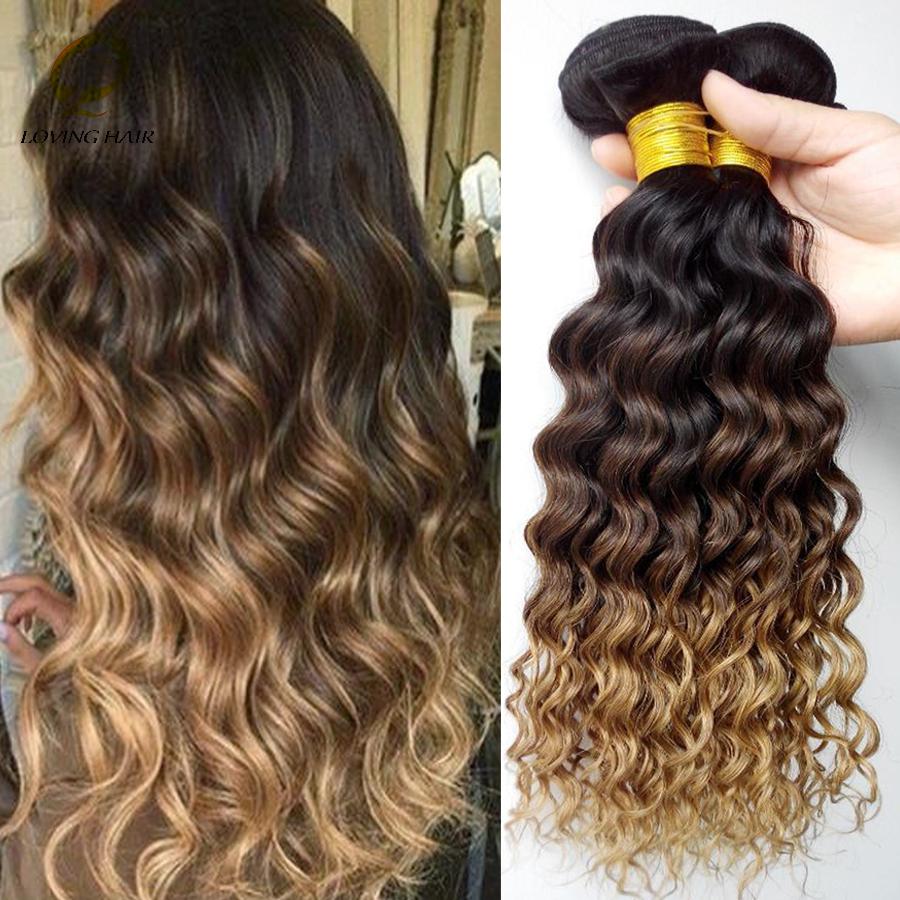 Virgin Malaysian Deep Curls Hair 8A Ombre Malaysian Deep Wave Virgin Hair 3 Bundles/lot Malaysian Deep Curl Virgin Hair<br><br>Aliexpress