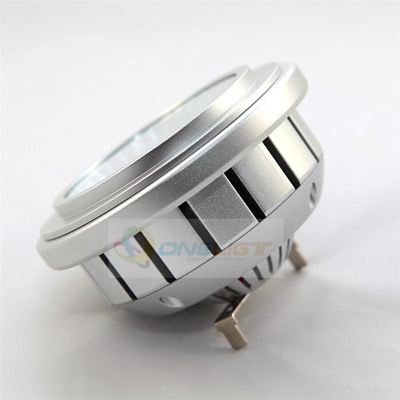 Newest Design 15W AC/DC 12V LED AR111 G53 Light Bulb CREE COB Chip Led Spotlight Bulb with 75-100W Halogen Equivalent(China (Mainland))