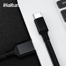IHaitun 5A typu C kabel USB dla Huawei Mate 20 P20 Honor 10 Xiaomi Redmi uwaga 7 Pro kabel USB 3.1 ładowarka drutu Cord danych Super C(China)